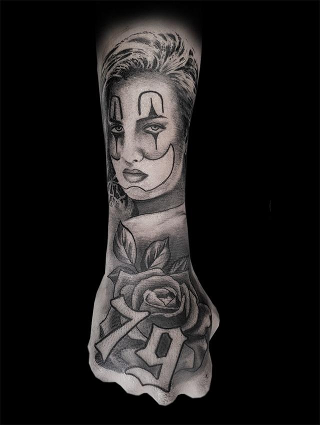 Realistic, Agliolo Tattoo